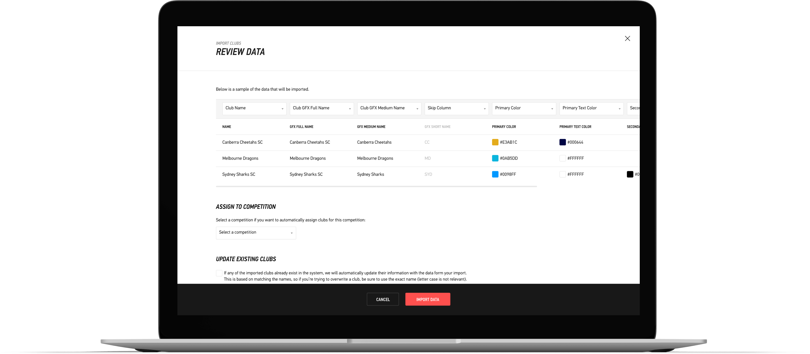 Import all your branding seamlessly and quickly using LIGR's bulk upload features.