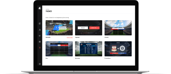 TV-Quality, live graphics templates ready-to-go and add to any sports live stream in minutes. Powered by LIGR.Live.