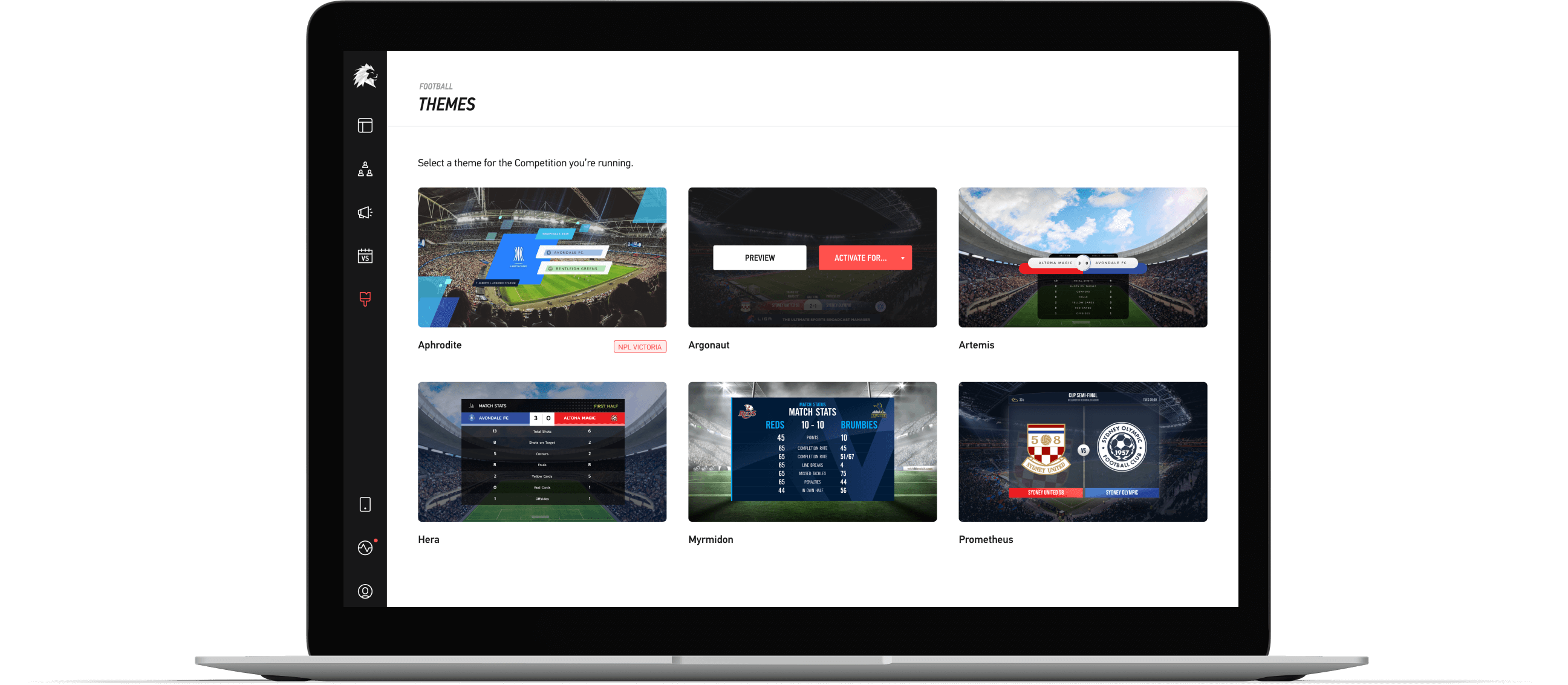 Look like a pro, without the hard work. Effortless, TV-quality, live graphics. Ready-to-go with LIGR.