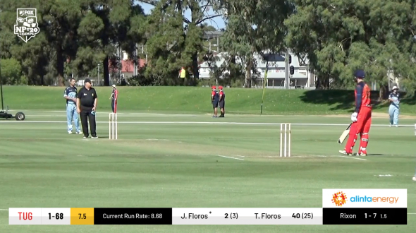 Live, automated, cricket graphics with sponsorship integration, being used on Fox Cricket. Powered by LIGR.Live.
